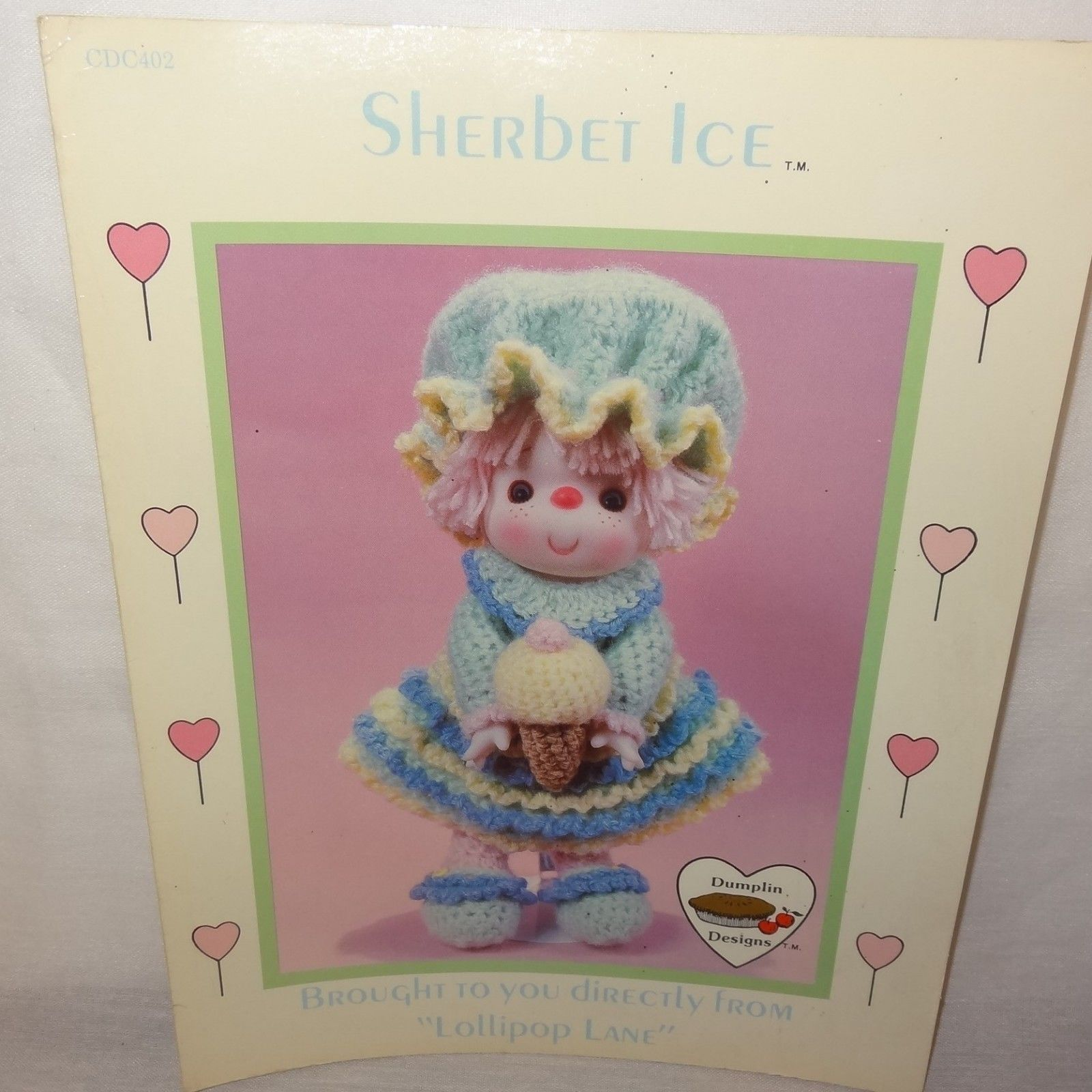 Sherbet Ice Brought to You Directly From Lollipop Lane Dumplin Designs