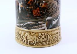 "Miller Genuine Draft Ducks Unlimited Stein ""The Pleasures Of Winter""  image 8"