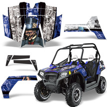 UTV Graphics Kit SxS Decal Sticker Wrap For Polaris RZR 800 2011-2014 HA... - $393.79