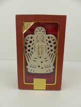Lenox Bright Christmas Angel Votive Candle Holder Holiday Decoration Col... - $10.36