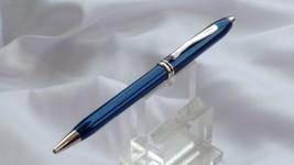 Cross Townsend Ball pen - Quartz Blue Lacquer- New In Box - $103.46