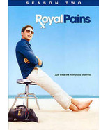 Royal Pains: Season Two (DVD, 2011, 4-Disc Set) Like New - $9.49