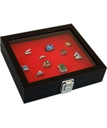 New 36 Pins Buttons Badges BOX RING CASE storage display New - $28.42