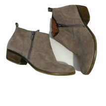 Lucky Brand Size 9 Suede Ankle Boot Booties - $24.99