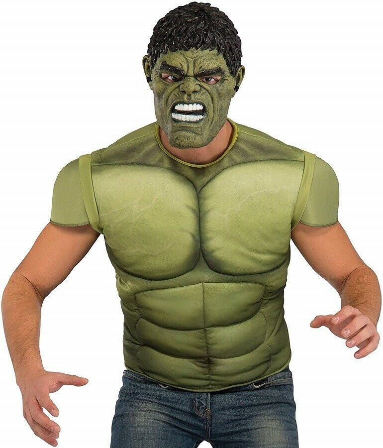 Primary image for Standard -  Men's Avengers 2 Age of Ultron Hulk Muscle Chest Costume and Mask