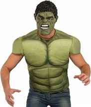 Standard -  Men's Avengers 2 Age of Ultron Hulk Muscle Chest Costume and... - $37.04