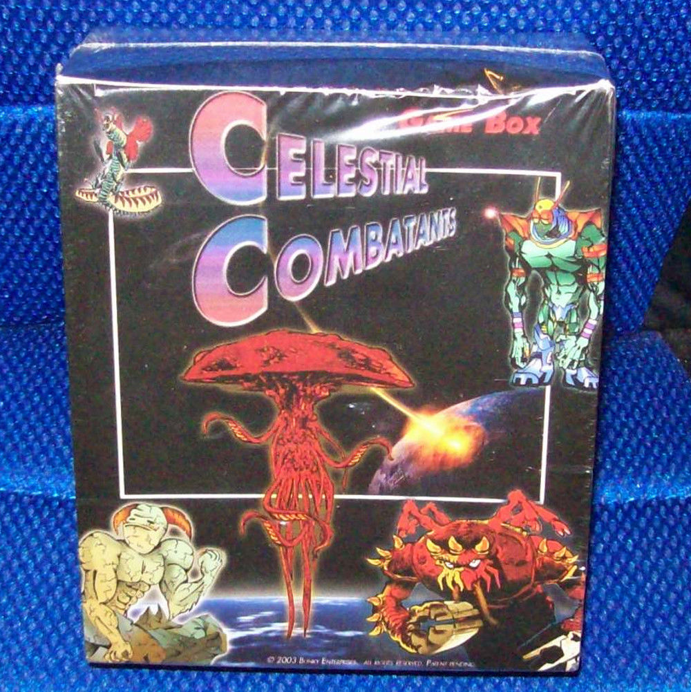 Bunky Enterprises Celestial Combatants Game Box- New In Sealed Box
