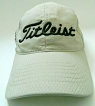 TITLEIST ADULT SIZE ADJUSTABLE TAN GOLF HAT CAP - $15.84