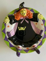 Yankee Candle Halloween Strega Piastra Figurale Goffrato Testa & Piedi Fall - $26.68