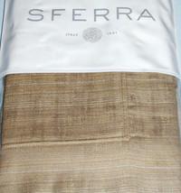 Sferra Domero Boudoir Sham Pebble Long Staple Cotton Sateen Jacquard New - $39.80