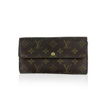 Authentic Louis Vuitton Monogram Long Sarah Clutch Continental Wallet - $321.75