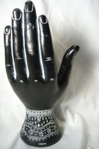Scary Halloween Black Knowing Eye  Hand image 2