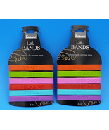 12 ct. Bottle Bands Drink Markers Identifiers Finders Funny Silicone Bee... - $8.75