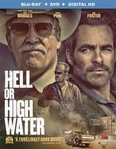 Hell Or High Water (Blu Ray/DVD W/Dig Uv) (Ws/Eng/Eng Sub/Span Sub/5.1 Dd)