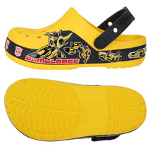 Crocs Transformers Bumblebee Kids Clogs Slip On... - $47.82