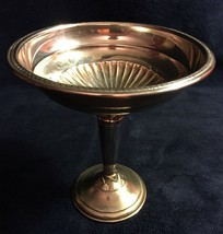 """""""National Sterling Weighted"""" pedestal bowl, 6"""" tall weighted - $45.00"""