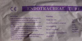 Lot 2 Endotracheal Oral/Nasal Tube Cuffed Ex 2024 6.5, 7, 7.5, 8, 8.5 First Aid image 3