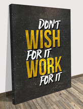 "Motivational Wall Canvas Print Inspiration Office Decor Modern Art 24"" x 18"" Inc - $72.08"