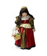 1992 WORLD GALLERY 16 Porcelain Doll Caterina Queen Isabella Limited Edi... - $79.99