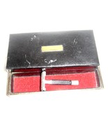 Vintage Gillette Safty Razor and Razor Razor Blade and Tie Clip Case - $16.99