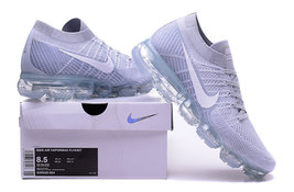 Nike air vapormax flyknit pure platinum white wolf grey for sale 12 thumb200