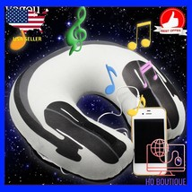 Hot Soft U Shaped support musical headphone Neck memory foam pillow for ... - $36.10
