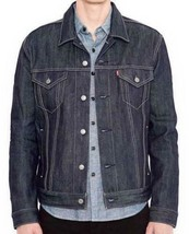 Levi's Men's Premium Button Up Denim Jeans Jacket Relaxed Rigid 723350005 image 1