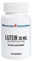 Relentless Improvement Lutein Zeaxanthin Natural Source No Fillers 100% Pure Act
