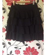 H & M black tiered skirt, size 6 - $8.00