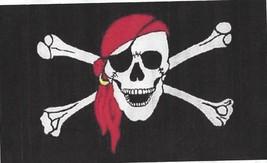 Pirate  Flag - Skull & Cross Bones - Brass Grometts - Banner New 3 x 5 F... - $4.90