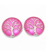 Boom Life tree of Life Pattern Charms 18mm bohemian Snap Button For DIY ... - $10.69