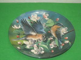 The Bluebird Collector Plate Signed 1986 Knowles Kevin Daniel Plate No 9... - $12.16