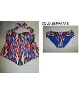 Becca  0X 1X 2X 'Aura' Halter Tankini Top (Plus Size) Multicolor OR BOTT... - $23.99+
