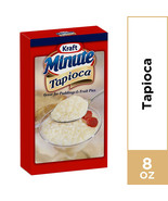 Kraft Minute Tapioca 8 oz Box Great For Puddings & Fruit Pies - $13.99