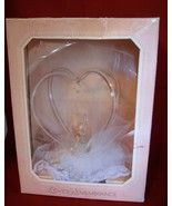 1987 Wedding Swans Topper Cake Ornament Loves Remembrance Heartline USA - $42.00