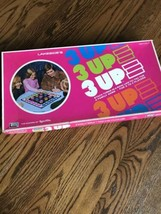 Lakeside Games 3 UP Stack Three In a Row Tic Tac Toe Family Board Game - re - $12.59