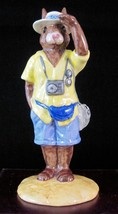 Royal Doulton Bunnykins Figurine - Tourist Bunnykins DB190 - $33.24