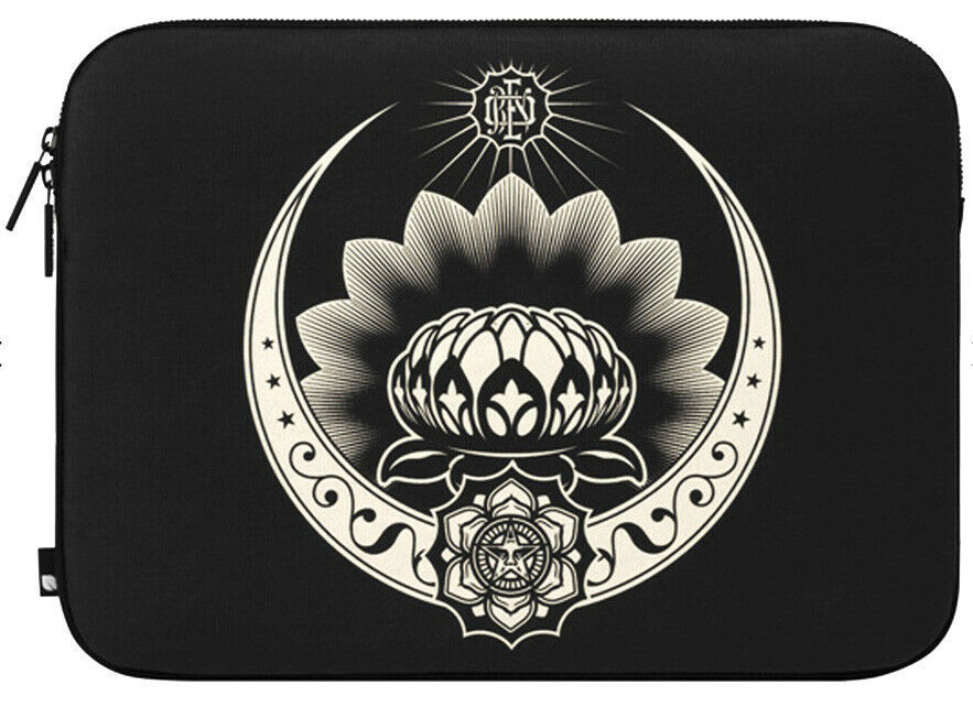 "Incase x Shepard Fairey Obey Ornament Black/Cream 15"" MacBook Pro Sleeve Case"