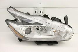 OEM HEADLIGHT HEADLAMP HEAD LIGHT 15-18 NISSAN MURANO HALOGEN chip rear ... - $198.00