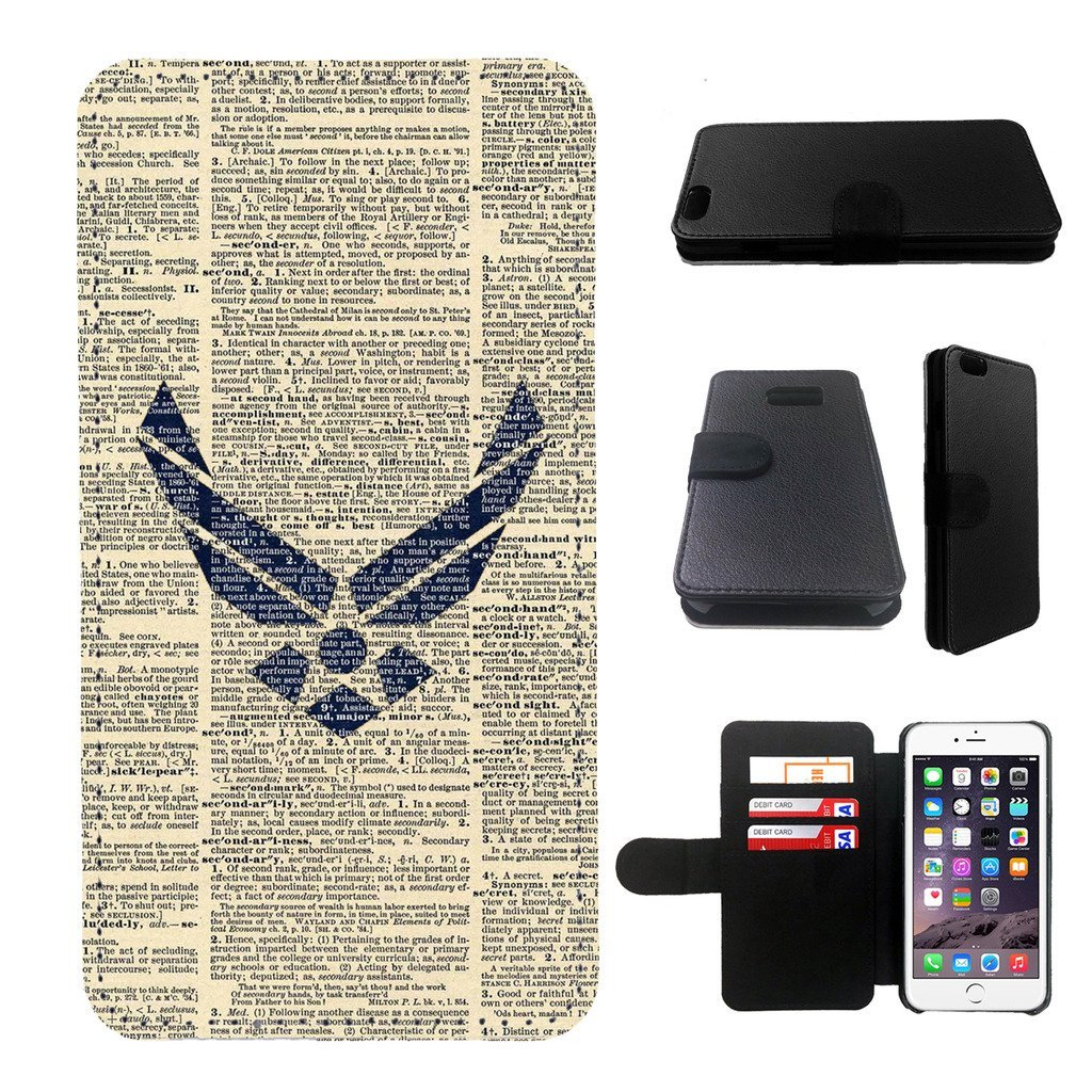 Air Force Iphone 6s PLUS wallet leather case, iphone 6s PLUS wallet case, iphone