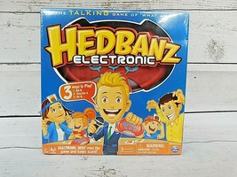*NEW* Spin Master Hedbanz Electronic Card board Game Still In Factory Plastic - $18.00