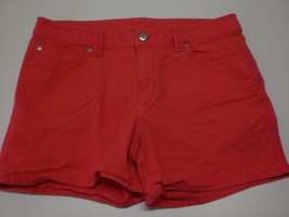 W14029 Womens Gap Dark Coral Stretch Denim J EAN Shorts 31/12 - $28.96