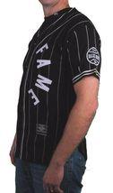 Hall Of Fame Black House Wool Blend Knit Button Up Baseball Jersey Shirt image 3