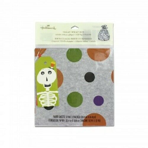 Primary image for Halloween Themed Gift Wrap Kit