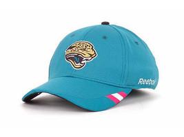 Jacksonville JAGUARS- Rbk Nfl Breast Cancer Awareness Flex Fit Coaches CAP-L/XL - £14.56 GBP