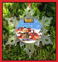 Bob The Builder Christmas Ornament - Snowflake Ornament - $12.95