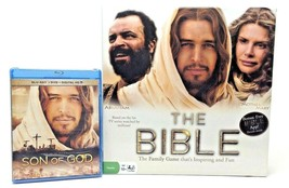 Son of God BluRay New  and The Bible Family Board Game Used  - Bundle - $20.79