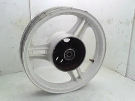 1989 Kawasaki EX500 Ninja OEM Rear Wheel Rim White EX 500 - $14.58