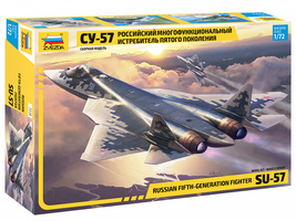 Zvezda 7319 - Russian fifth-generation fighter SU-57 Scale 1/72 - $99.00