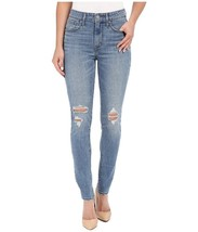 Levi's 721 Women's High Rise Skinny Ripped Distressed Denim Jeans 188820049